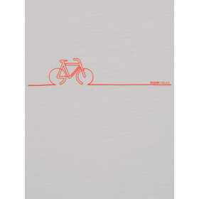 super.natural Bike Line Tee Women, grijs